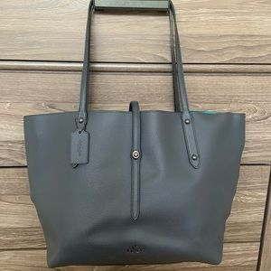 Coach Polished Pebble Market Tote Bag